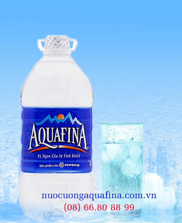 Nước uống aquafina 5000ml