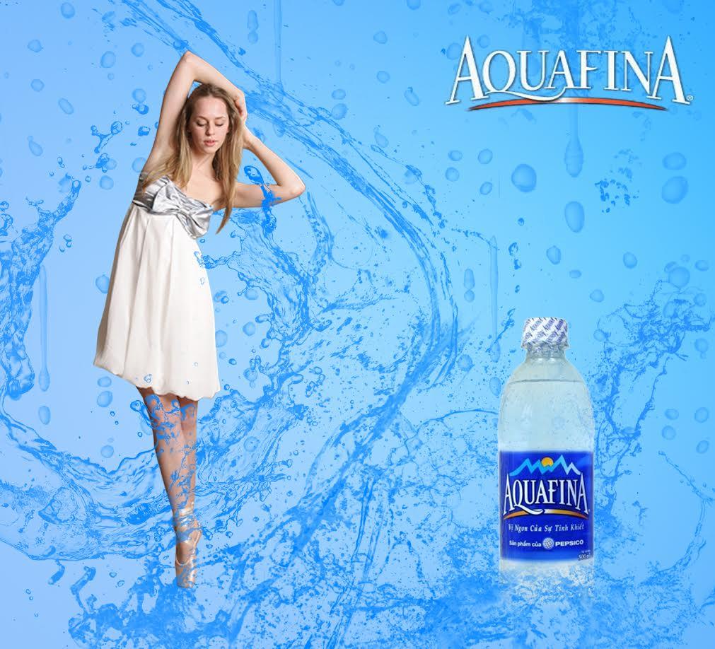 nuoc uong aquafina